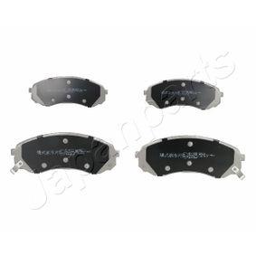 Bremsbelagsatz, Scheibenbremse Höhe: 63,5mm, Dicke/Stärke: 17,5mm mit OEM-Nummer 58101-4DE00