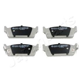 Bremsbelagsatz, Scheibenbremse Höhe: 34,8mm, Dicke/Stärke: 15mm mit OEM-Nummer 44060-5M490