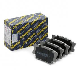Bremsbelagsatz, Scheibenbremse Höhe: 49,5mm, Dicke/Stärke: 15,2mm mit OEM-Nummer 04466 YZ ZE8