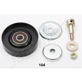 2010 Nissan Note E11 1.4 Deflection / Guide Pulley, v-ribbed belt RP-104