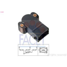 FACET Sensor, Drosselklappenstellung 10.5064 für FORD ESCORT VI Stufenheck (GAL) 1.4 ab Baujahr 08.1993, 75 PS