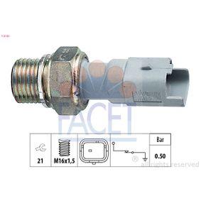 Moottorielektroniikka FIAT DUCATO Umpikori (244) 2.0 JTD 84 HV Lähettäjä (keneltä) Vuosi 04.2002: Öljynpainekytkin (7.0130) Varten päälle FACET