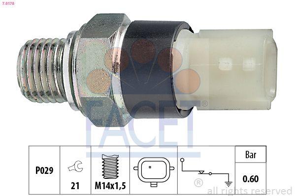 FACET  7.0178 Διακόπτης πίεσης λαδιού