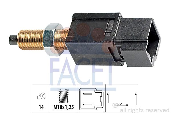 Image of FACET Interruttore luce freno 8012510039502