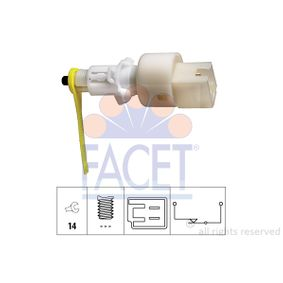 Brake Light Switch 7.1153 PUNTO (188) 1.2 16V 80 MY 2000