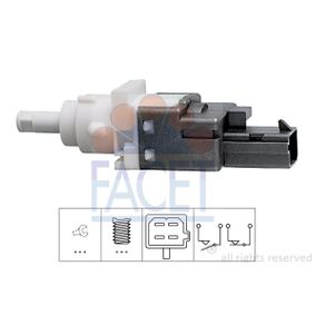 Brake Light Switch 7.1161 PUNTO (188) 1.2 16V 80 MY 2000