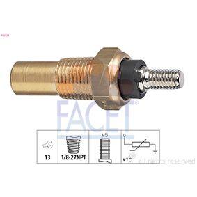 Sistema Eléctrico del Motor FORD MONDEO II (BAP) 1.8 TD de Año 08.1996 90 CV: Sensor temp. refrigerante (7.3124) para de FACET