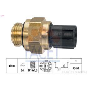 Термошалтер, вентилатор на радиатора 7.5196 Jazz 2 (GD_, GE3, GE2) 1.2 i-DSI (GD5, GE2) Г.П. 2005