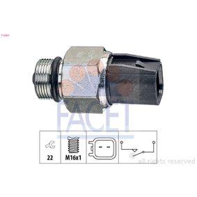 Switch, reverse light 7.6267 FIESTA 6 1.6 ST200 MY 2019