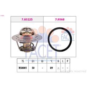 Thermostat, Kühlmittel D1: 50mm mit OEM-Nummer 91 159 950