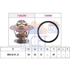 Thermostat, coolant D1: 54mm, D2: 35mm with OEM Number 044 121 113