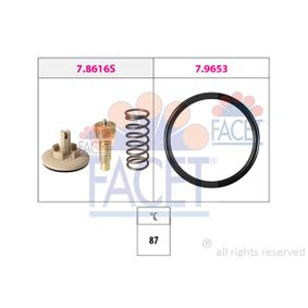 Thermostat, coolant 7.8616 POLO (9N_) 1.2 MY 2009