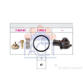 Thermostat, coolant 7.8617K POLO (9N_) 1.2 MY 2007