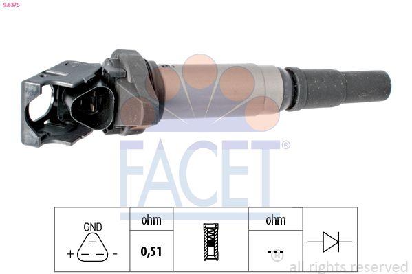 Image of FACET Bobina d'accensione 8012510221358
