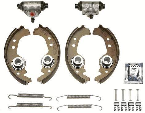 TRW Brake Kit BK1401 Juego de zapatas de frenos Ancho: 31mm