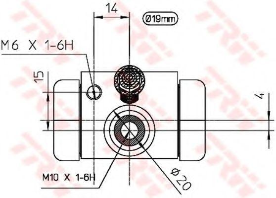 Radzylinder TRW BWD100 Bewertung