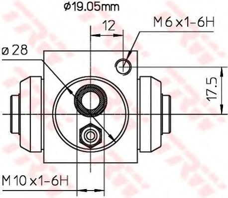 Radzylinder TRW BWD119A Bewertung