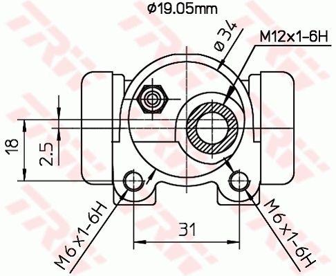 Radzylinder TRW BWD123 Bewertung