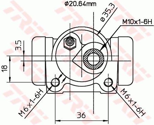Radzylinder TRW BWF161 Bewertung