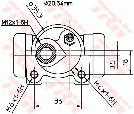 Radzylinder TRW BWF166 Bewertung