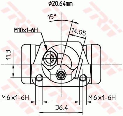 Radzylinder TRW BWF191 Bewertung