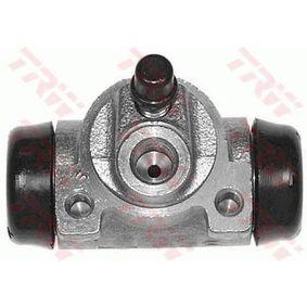 Wheel Brake Cylinder BWF262 PUNTO (188) 1.2 16V 80 MY 2000