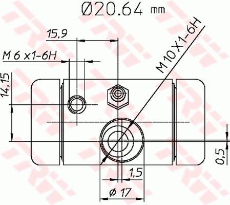 Radzylinder TRW BWF290 Bewertung