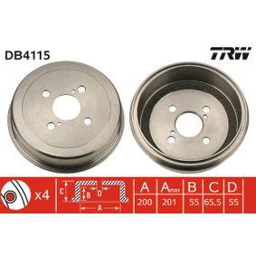Bremstrommel Art. Nr. DB4115 120,00€