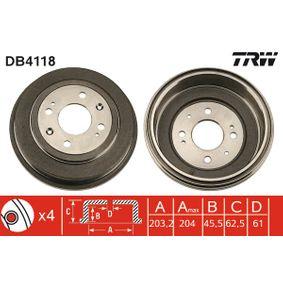 Спирачен барабан DB4118 25 Хечбек (RF) 2.0 iDT Г.П. 2003