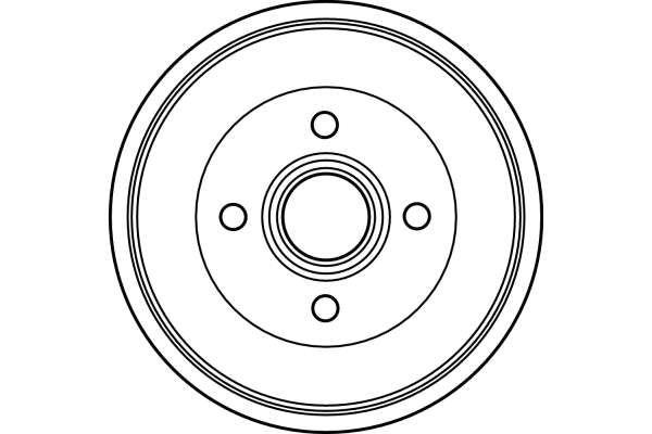 Bremstrommel TRW DB4123 Bewertung
