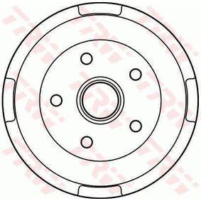 Bremstrommel Trommel-Ø: 228,6mm mit OEM-Nummer GK59-26-251
