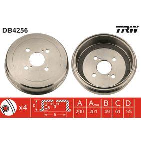 Bremstrommel Art. Nr. DB4256 120,00€