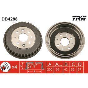 Bremstrommel Art. Nr. DB4288 120,00€
