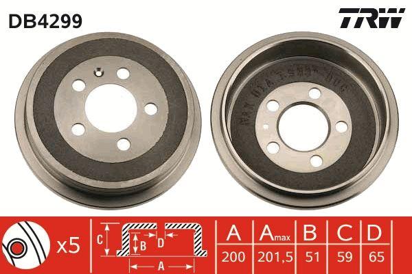 DB4299 TRW do fabricante até - 20% de desconto!