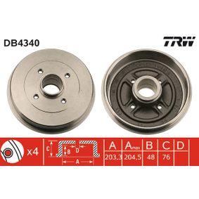 Bremstrommel Art. Nr. DB4340 120,00€