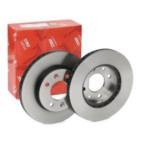 Bremsscheibe Bremsscheibendicke: 20,1mm, Lochanzahl: 4, Ø: 238mm mit OEM-Nummer 4020600Q0D
