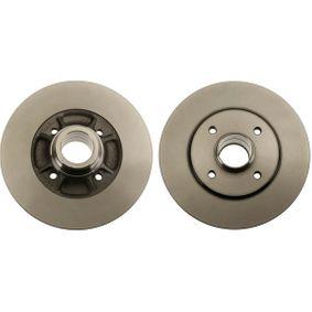 Bremsscheibe Bremsscheibendicke: 8mm, Lochanzahl: 4, Ø: 238mm mit OEM-Nummer 77 00 805 148