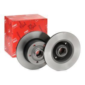 Bremsscheibe Bremsscheibendicke: 9,9mm, Lochanzahl: 5, Ø: 245mm mit OEM-Nummer 8D0 615 301B