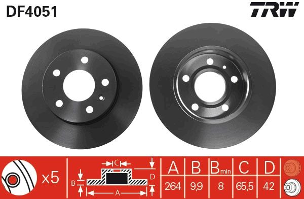 DF4051 TRW from manufacturer up to - 28% off!