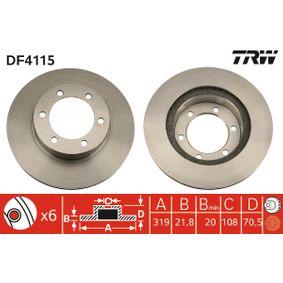 Bremsscheibe Art. Nr. DF4115 120,00€