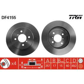 Bremsscheibe Art. Nr. DF4155 120,00€