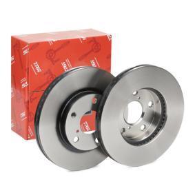 Brake Disc DF4161 RAV 4 II (CLA2_, XA2_, ZCA2_, ACA2_) 2.4 4WD MY 2003