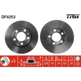 Bremsscheibe Art. Nr. DF4253 120,00€