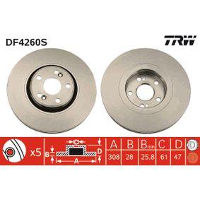 Bremsscheibe Art. Nr. DF4260S 120,00€