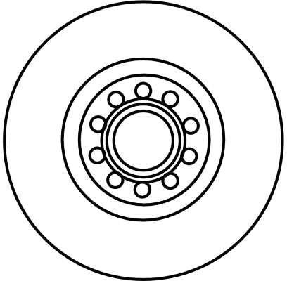 Scheibenbremsen TRW DF4262S Bewertung