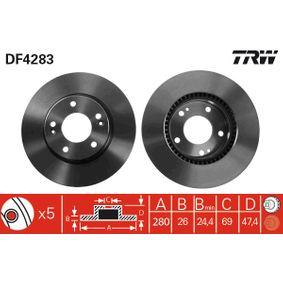 Artykuł № DF4283 TRW cena