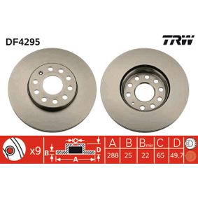 Artykuł № DF4295 TRW cena