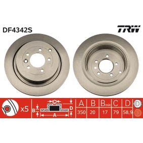 Bremsscheibe Art. Nr. DF4342S 120,00€