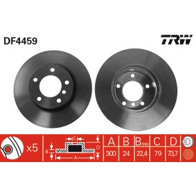 Artikelnummer DF4459 TRW Preise