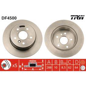 Disque de frein N° de référence DF4500 89,00€